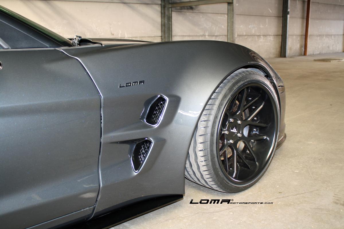 loma gt2 wide body kit for corvette loma motorsports. Black Bedroom Furniture Sets. Home Design Ideas