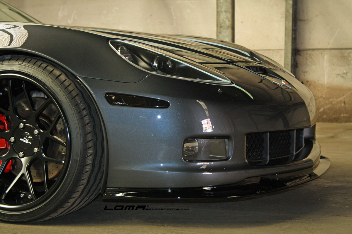 loma gt2 wide body on a corvette c6 loma motorsports. Black Bedroom Furniture Sets. Home Design Ideas